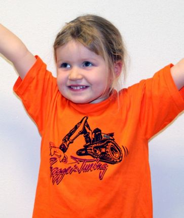 "Kinder T-Shirt ""Bagger-Tuning"""